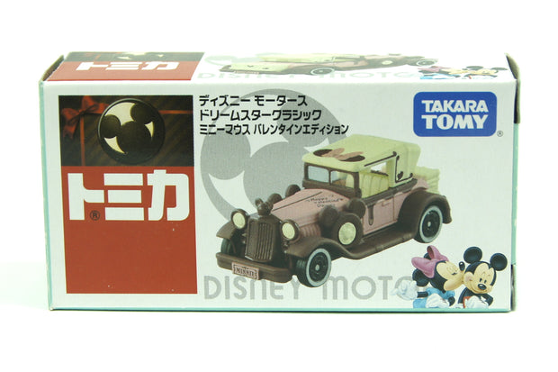 TOMICA DISNEY MOTORS MINNIE MOUSE VALENTINE EDITION DREAM STAR CLASSIC - Toymana