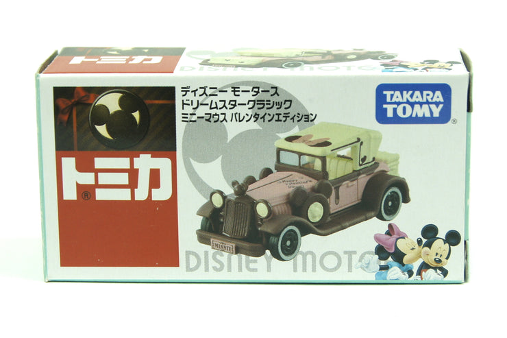 TOMICA DISNEY MOTORS MINNIE MOUSE VALENTINE EDITION DREAM STAR CLASSIC