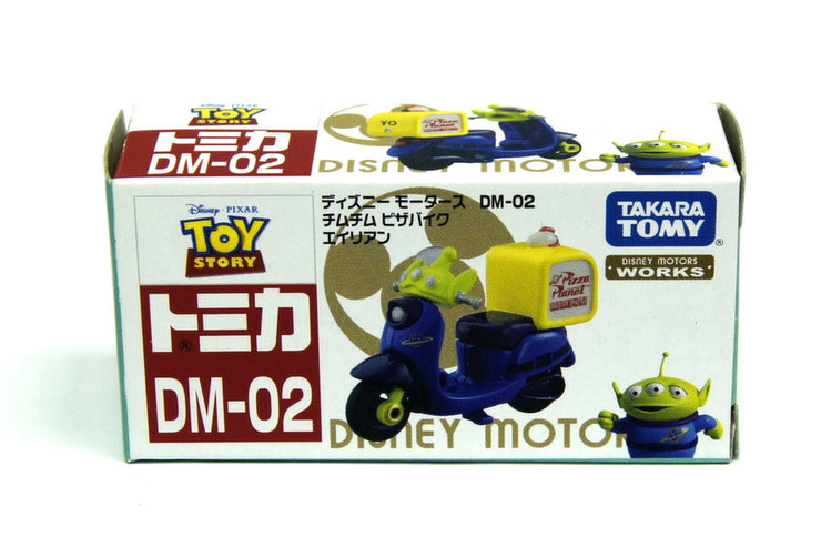 TOMICA DISNEY MOTORS DM-02 CHIM CHIM ALIEN