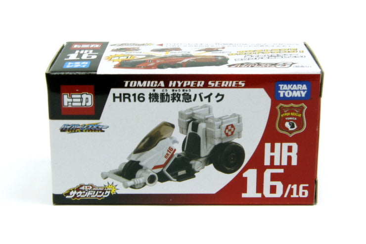 TOMICA HYPER RESCUE HR16 EMERGENCY BIKE