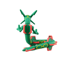Moncolle HP-004 Rayquaza (SHELF WEAR)