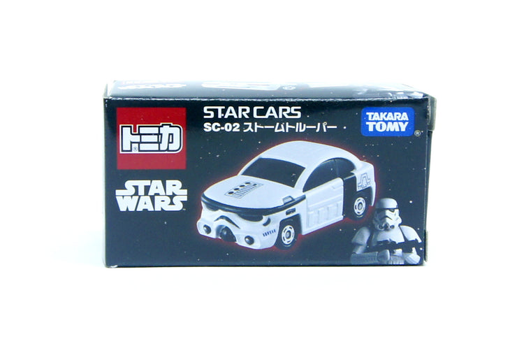 TOMICA STAR WARS SC-02 STAR CARS STORM TROOPER