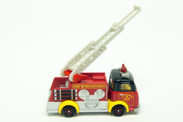 TOMICA DISNEY MOTORS DM-17 FIRE TRUCK MICKEY MOUSE - Toymana