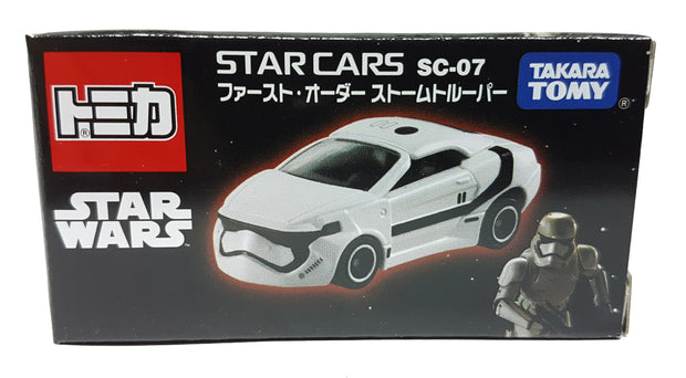 TOMICA STAR WARS STAR CARS SC-07 FIRST ORDER STORM TROOPER
