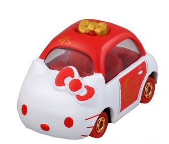 TOMICA LUCKY DRAW HELLO KITTY (6 ASST IN SET)
