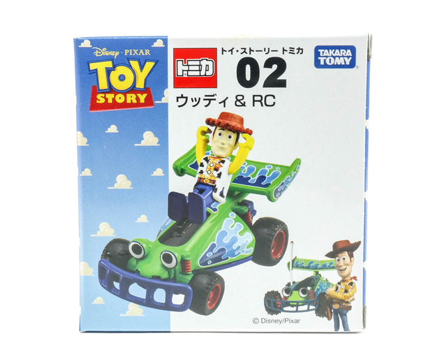 Tomica Toy Story Woody & RC