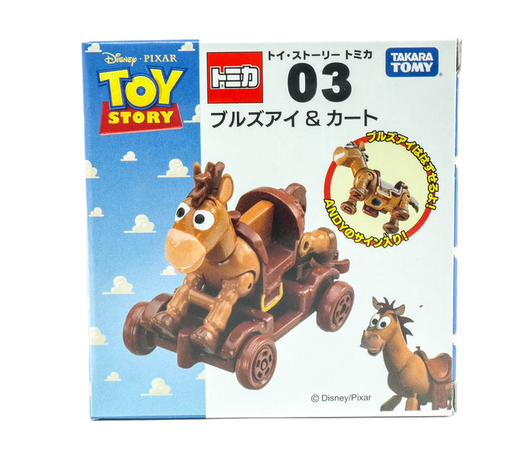 Tomica Toy Story Bullseye & Wooden Truck
