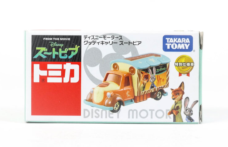 DISNEY TOMICA ZOOTOPIA GOOD DAY CARRY