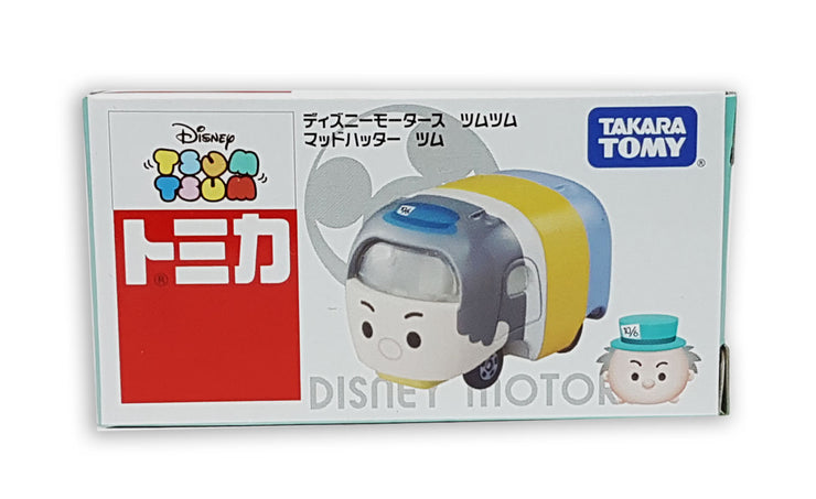 TOMICA DISNEY MOTORS DM TSUM TSUM MAD HATTER