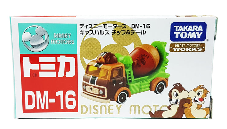 DISNEY MOTORS DM-16 CASPULS CHIP & DALE