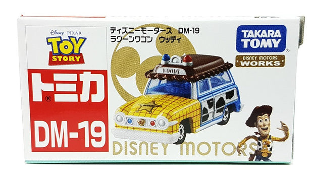 TOMICA DISNEY MOTORS DM-19 RAGOON WAGON WOODY - Toymana