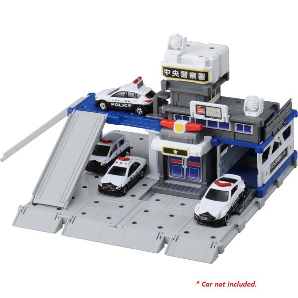 TOMICA BUILD CITY POLICE STATION