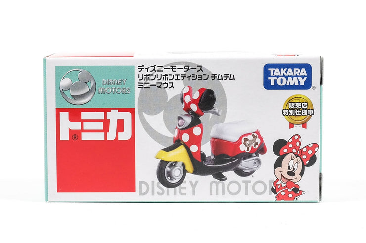 Tomica Disney Motors Ribbon Edition ChimChim Minnie Sej'17