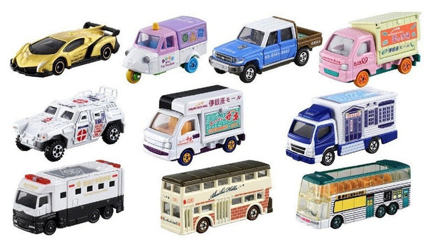 TOMICA LUCKY LOTTO 21 (LET'S MOVE TOWN CAR COLLECTION) (BOX OF 10PCS)
