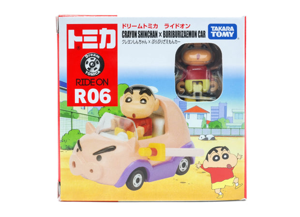 Dream Tomica Ride On R-06 Crayon Shin-Chan & Vehicle'18