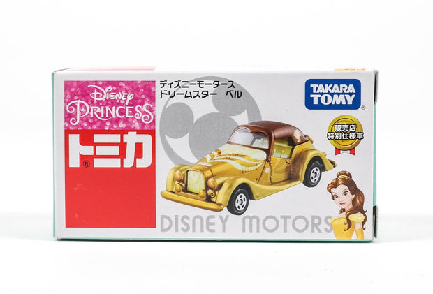 Tomica Disney Motors DreamStar Beauty & Beast Bell Sej'17