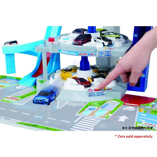 TOMICA TRIPLE GRAND PARKING (1ST EDITION WITH BONUS CAR)