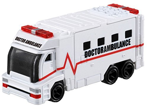 TOMICA DRIVE HEAD DHT-03 DOCTOR AMBULANCE