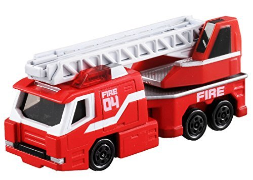 TOMICA DRIVE HEAD DHT-04 LADDER TRUCK