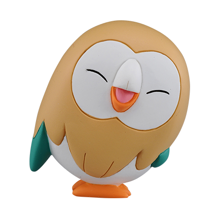 MONCOLLE EX ASIA VER. #49 ROWLET NEW POSE