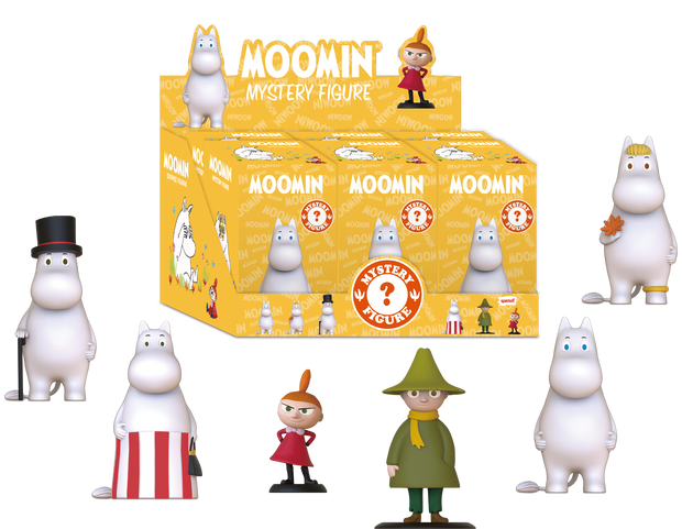 Moomin Mystery Figure Set (6 in 1)