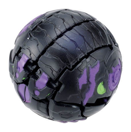 Bakugan Baku006 Storage Case 3 Black/Grey