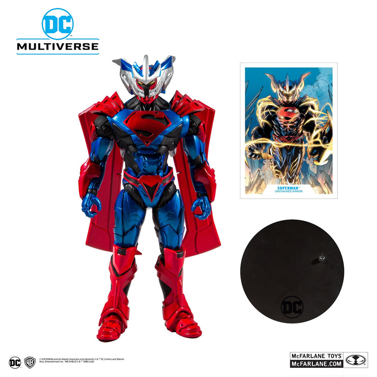 DC 7 Inch Superman Armored