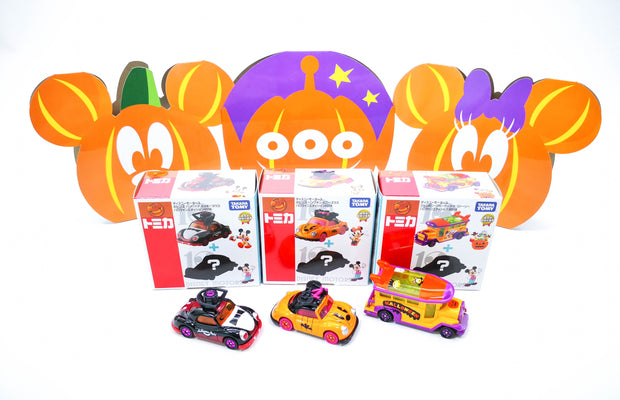 [10 Anniversary Disney Motors Halloween 2] Vampire Minnie + 1 Mystery Disney Motors