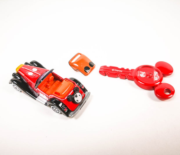 Tomica Disney Motors DM 10th Anniversary Dreams Mickey Mouse Owerns Key Set