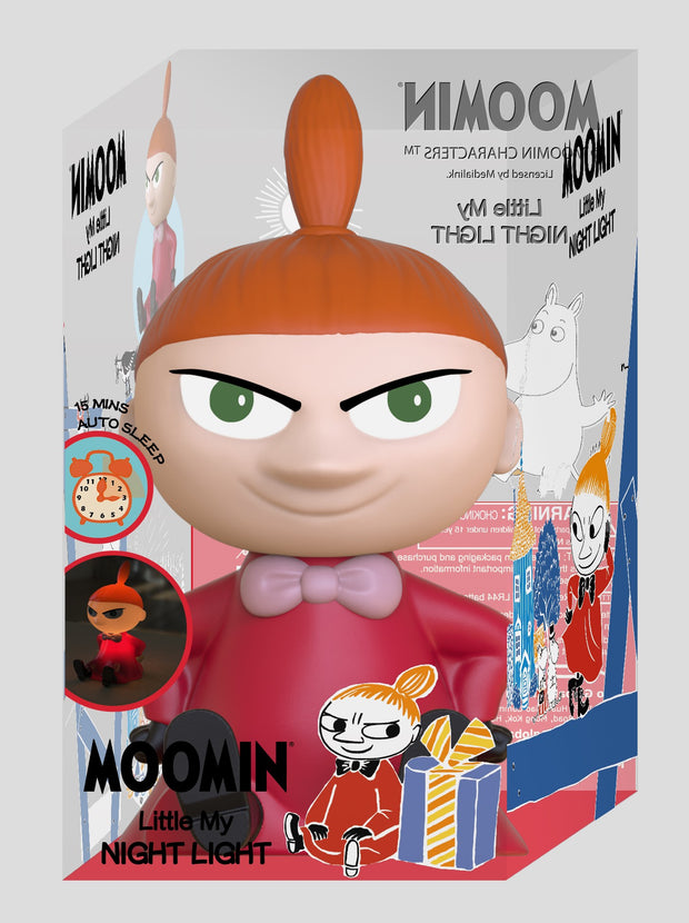 Moomin 13cm Little My Night Light with Timer