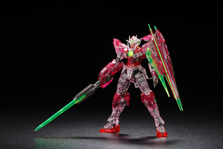 RG 1/144 OO Qan[T] Trans-Am - Clear Ver.