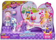 [Shopkins & I Dig Monster Bundle Pack] MO75535 I Dig Monsters S1 Popsicle Pk 12 CDU + MO57725 Shopkins Happy Places S8 Royal Crown Carriage