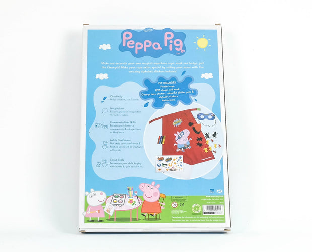 Peppa Craft George Super Hero Set (Shelf Wear)
