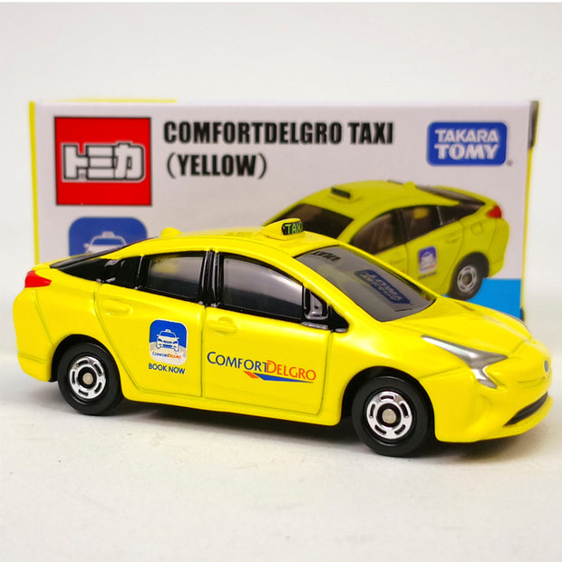 [Singapore Taxi Pack] Tomica Toyota Prius Comfort Sg Taxi (Blue) + Tomica Toyota Prius Comfort Sg Taxi (Yellow)