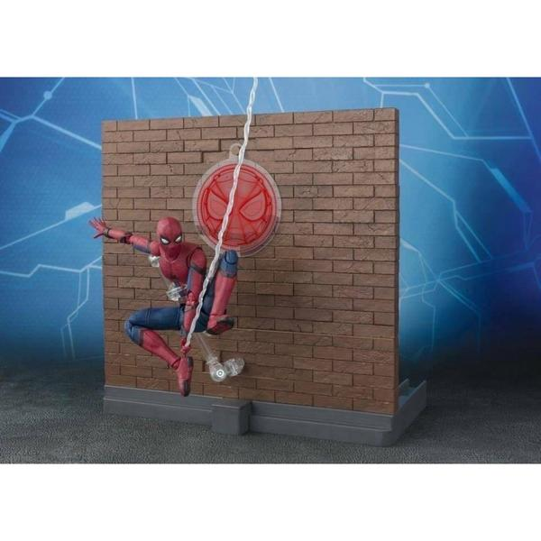 SHF SPIDERMAN & ACT WALL