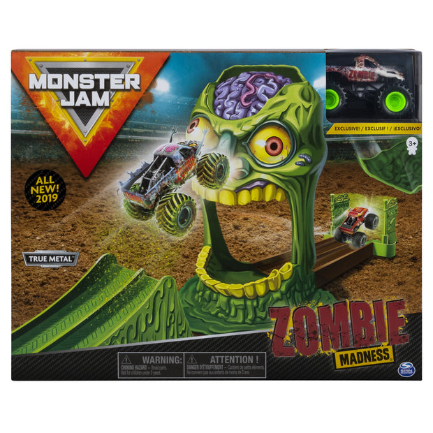 Monster Jam 1:64 Stunt Playsets (Zombie Zone)(Track Attack)