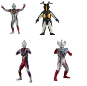 Hg Ultraman 1 (4 in 1 Set ) (46661)