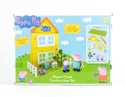 Peppa Construction - Peppa House (2D) With Daddy And George Figure (Shelf Wear)