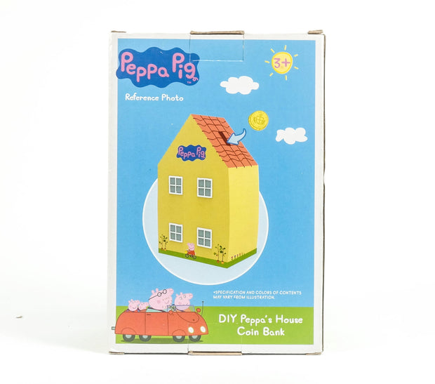 Peppa Diy House Coin Bank (Shelf Wear)