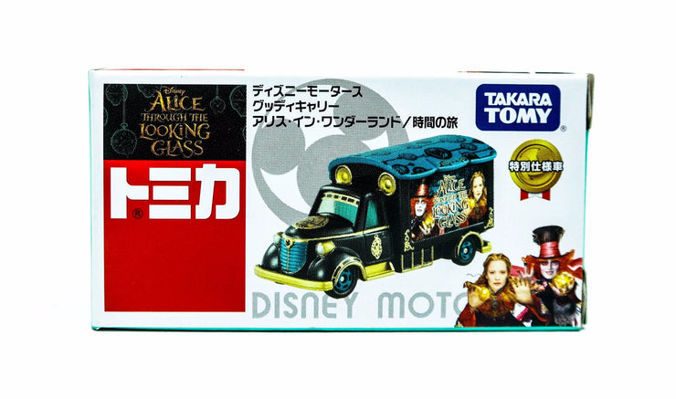 TOMICA DISNEY MOTORS DM GOODY CARRY ALICE THROUGH THE LOOKING GLASS