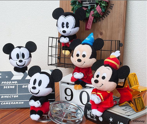 Chokkori San Disney 90th Anniversary Mickey Mouse (Comic Style)