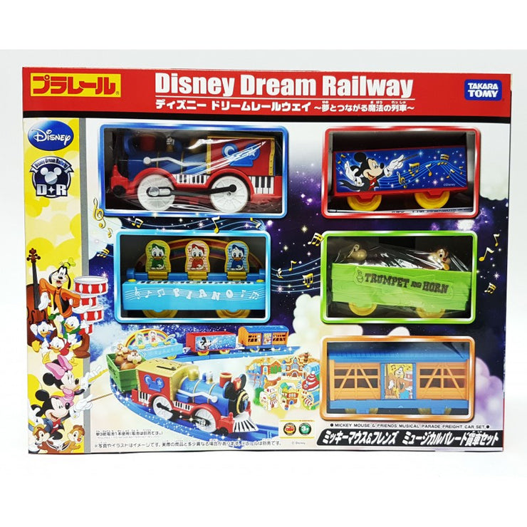 Disney Dream Railway Mickey Mouse & Friends Musical Parade Freight Car Set