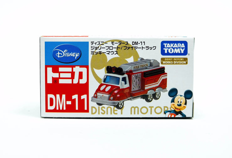 TOMICA DISNEY MOTORS DM-11 JOLLY FLOAT FIRE TRUCK MICKEY MOUSE