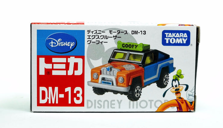 TOMICA DISNEY MOTORS DM-13R EXCRUISER GOOFY