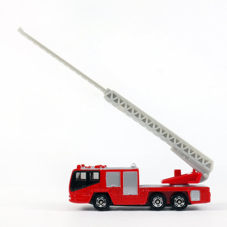 636595 Hino Aerial Ladder Fire Truck