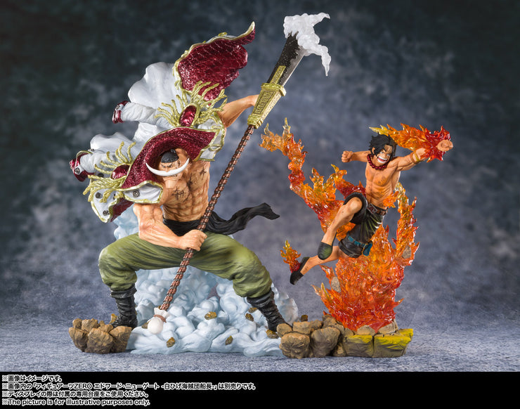 Figuarts Zero Portagas D Ace Commander Of The White Beard 2nd Division