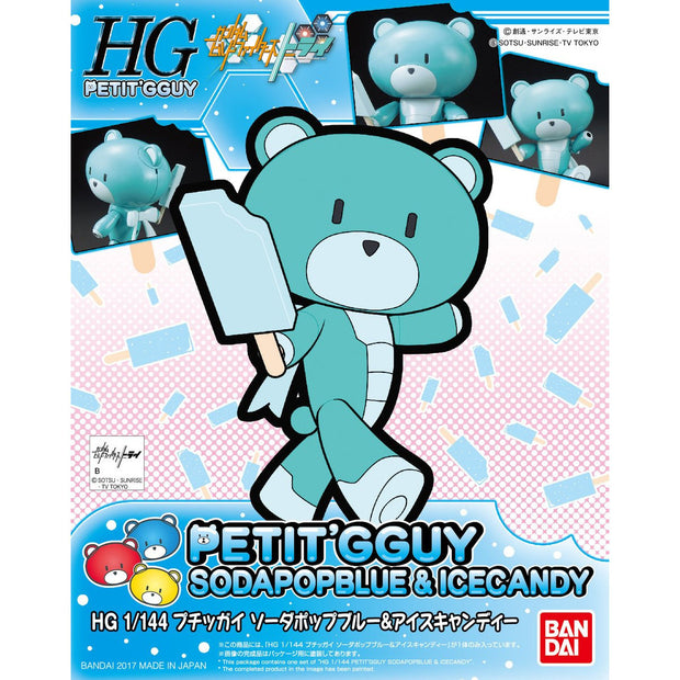 Hg 1/144 Petitgguy Soda Pop Blue & Icecandy