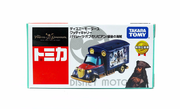 TOMICA DISNEY MOTORS DM GOODDAY CARRY PIRATES 2017