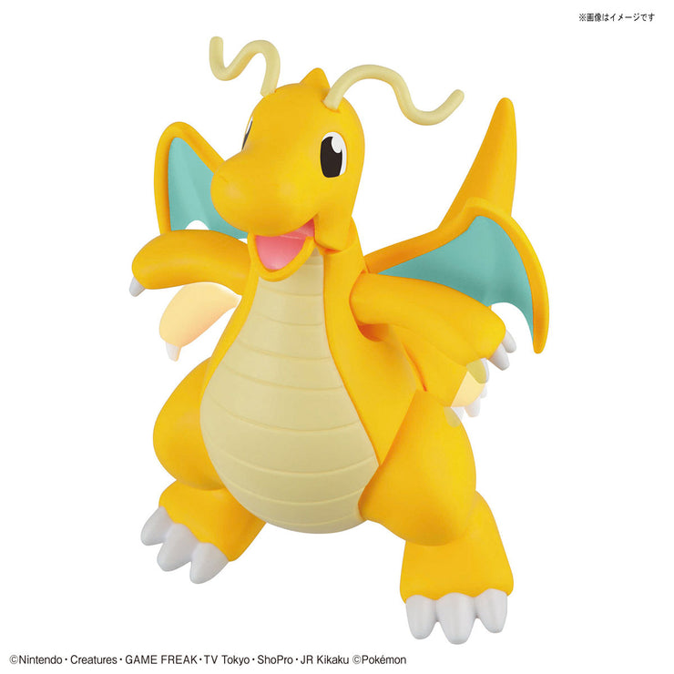 Pokemon Plamo Collection 43 Charizard Battle Ver & Dragonite Vs Set