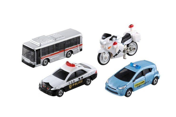 TOMICA GIFT TRAFFIC SAFETY VEHICLE SET